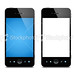 Smart phone (Clipping path)