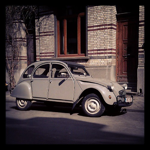 #2cv community of #brussels #cars #oldtimer #citroen