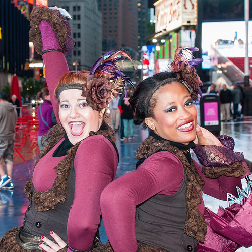 Times Square show girls - #149/365 by PJMixer