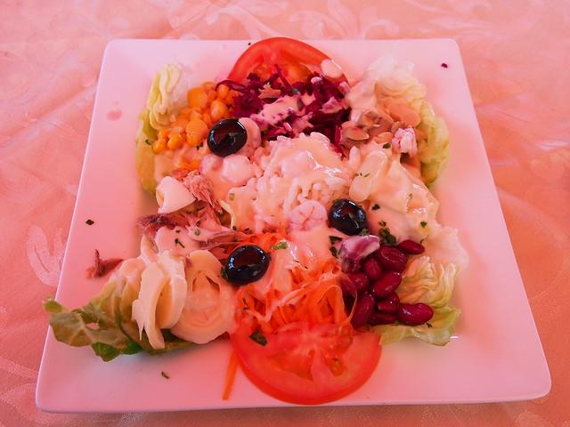 午餐-沙拉