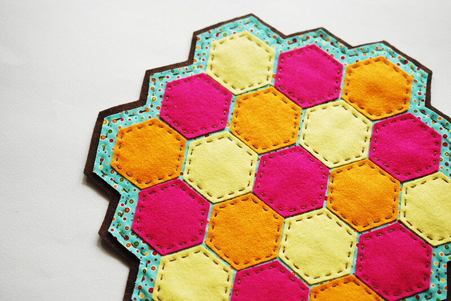 Hexagon Lemonade Coaster