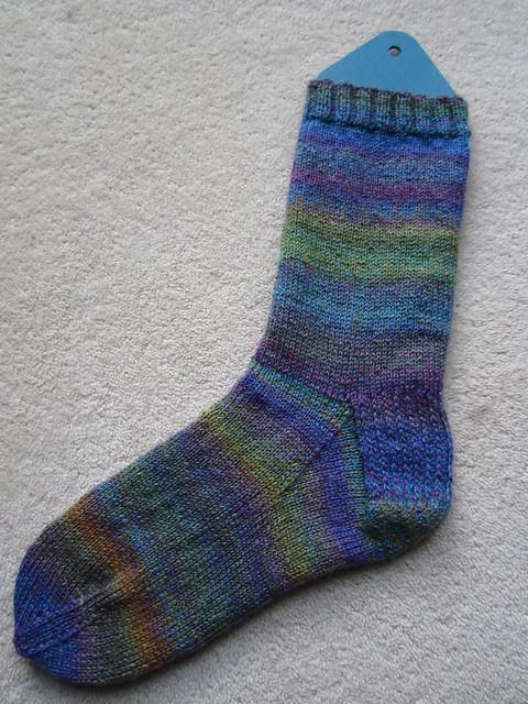 handspun nettle sock wip (2)