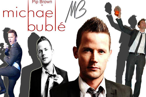 Pip Brown as Michael Bublé