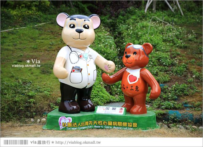 【台中泰迪熊2014】台中泰迪熊嘉年華(秋紅谷展區)~大熊牽小熊,萌翻大台中!8