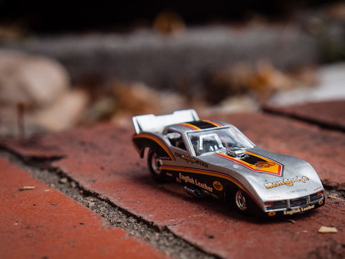 English Leather Corvette Funny Car