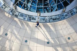 Billede af Rigsdagsbygningen i nærheden af Tiergarten. berlin