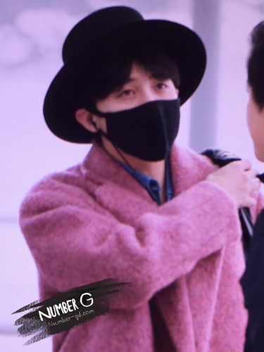 Big Bang - Incheon Airport - 21mar2015 - G-Dragon - Number G - 03