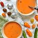 Gazpacho de melón Cantalupo {Cantaloupe Gazpacho}