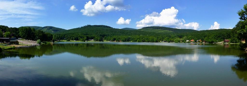 Vinne lake, Kosice region, Slovakia