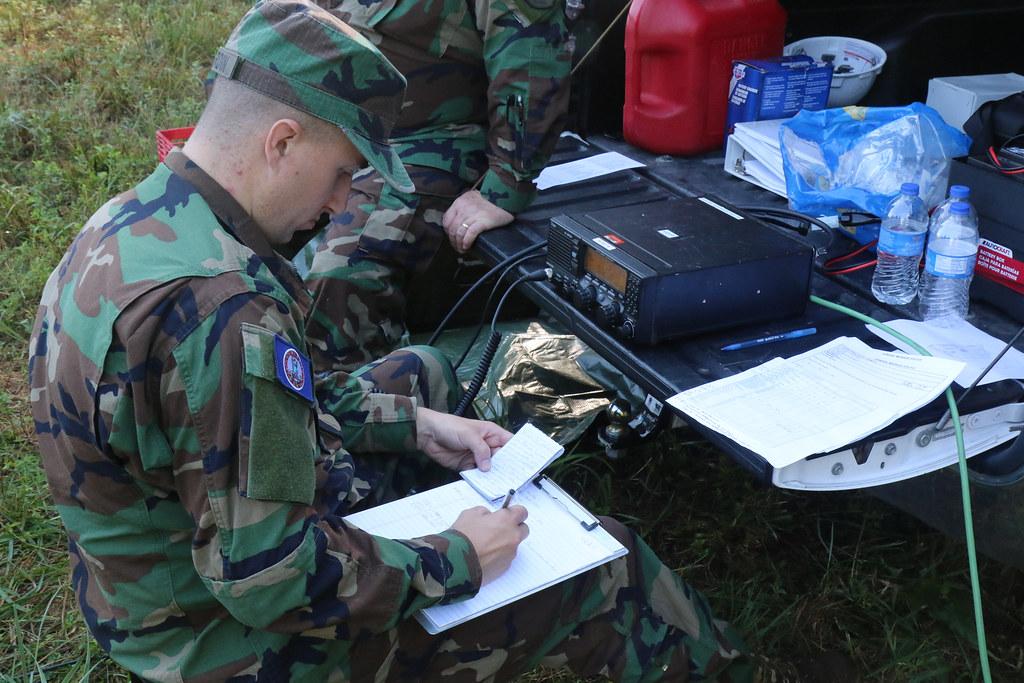 VDF trains, evaluates communication teams