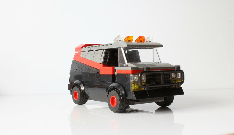 A-Team's van (with instructions)