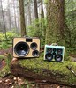 Dual BoomCases for a forest wedding in Canada via @hujine - #BoomCase #BoomBox #Forest #Canada