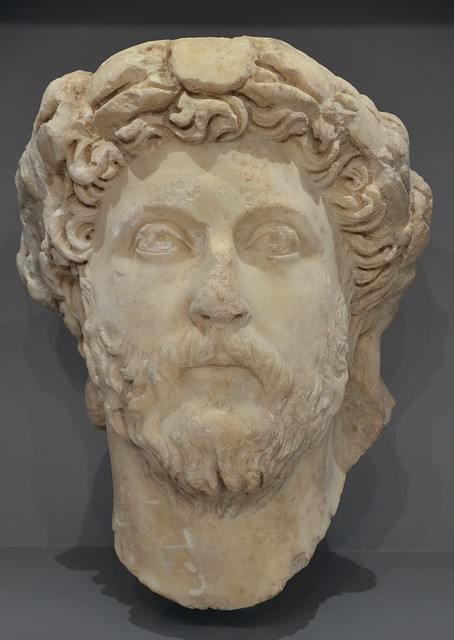 Marcus Aurelius, found in Gorytn, Heraklion Archaeological Museum