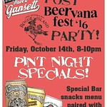 Serving lunch till 4pm today! Tonight we have our Beervana after party with @gansettbeer ! Stop in to try three Gansett beers! Our kitchen will be open late serving snacks for any guests looking for food after the Beervana Fest! #beervana #arcadeprovidenc