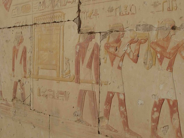Ramesses II Tempe Abydos offering procession