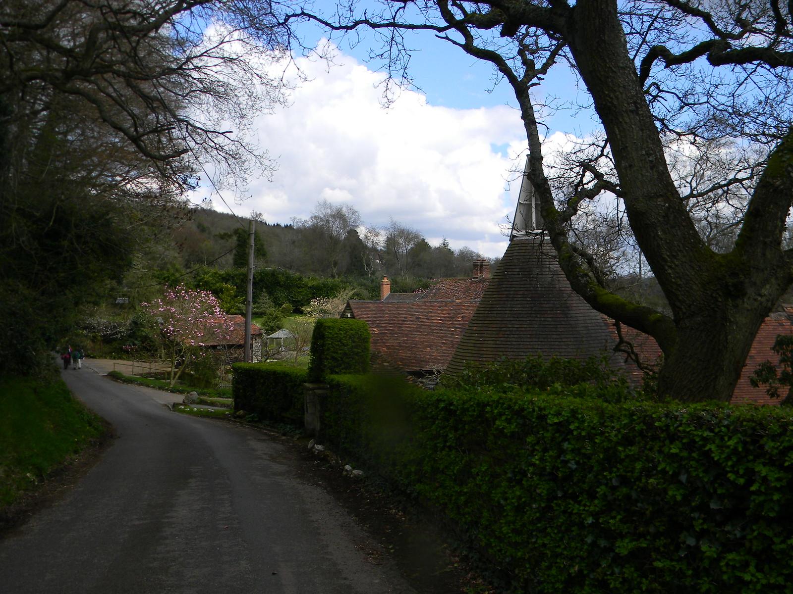 Oast Houses Chartwell Farm, I think. Hurst Green to Wetherham