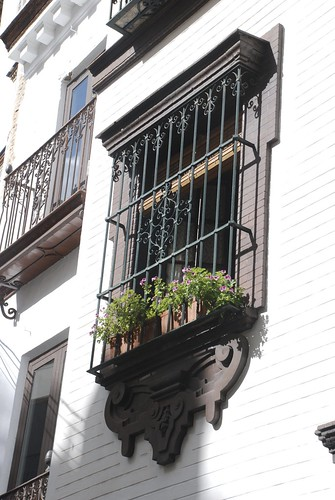 balcony seville, spain