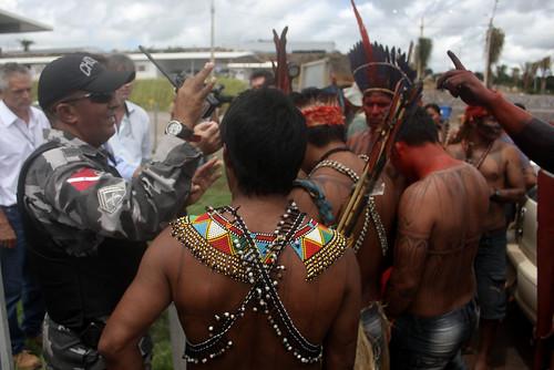 Ocupação do canteiro de obras Belo Monte por mundurukudenuncia, no Flickr
