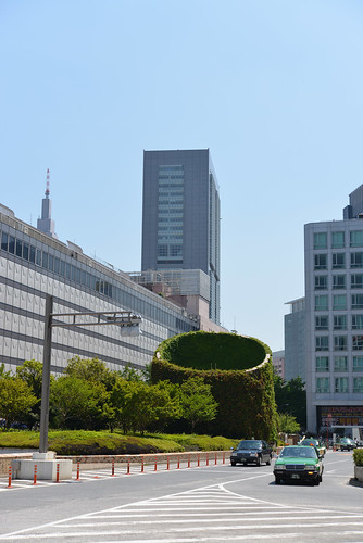 Near the terminal of the Shinjuku Station west entrance