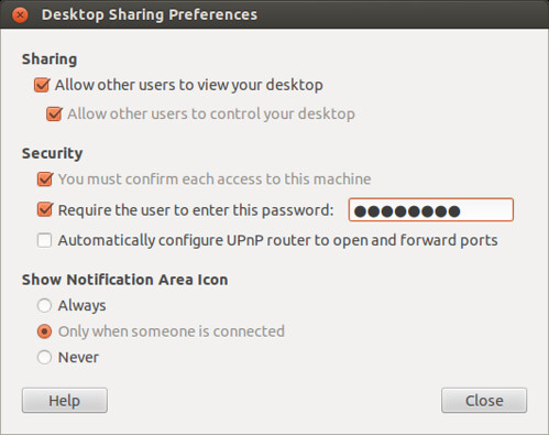 Setup VNC server on Linux | Blog 2013