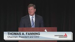 Thomas A. Fanning, CEO and President, Southern Company