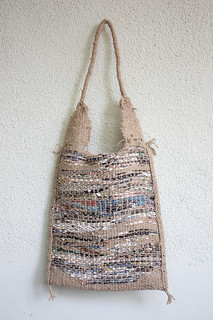 Handwoven bag (back)
