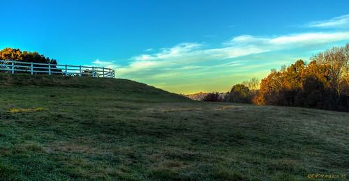morning sunrise fence nikon frost pasture hdr lightroom postprocessing photomatix