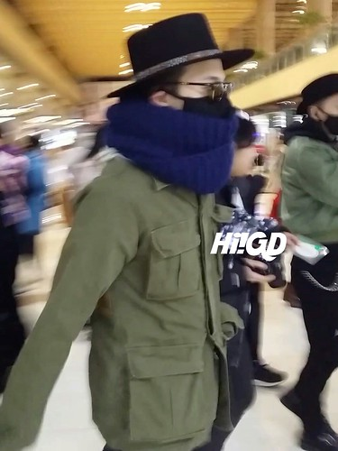 Big Bang - Gimpo Airport - 27feb2015 - G-Dragon - Hi GD - 05