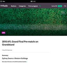ABC Grandstand - ABC Radio