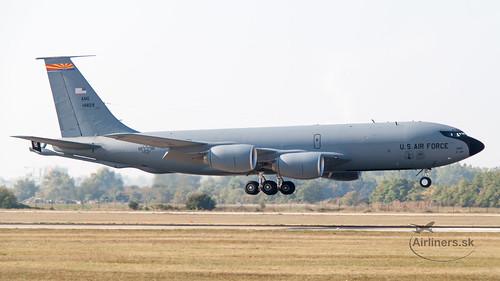 64-14829 USAF United States Air Force Boeing KC-135R Stratotanker (717-148)