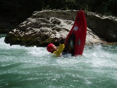 Kayaking & Climbing: French Alps (29-May-05)