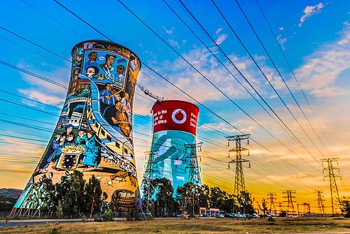 soweto sudáfrica southafrica sunset landscape urban orlandotowers bungeejump