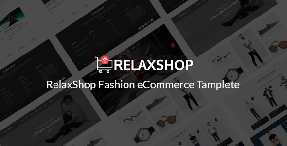 Relaxshop v1.0 - eCommerce Fashion Template