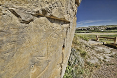 Writing-on-Stone Provincial Park - Petrogyphs