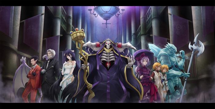 Anunciado novo filme compilatório do anime de Overlord