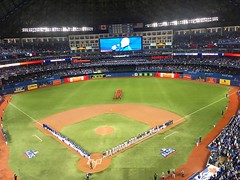 October 9, 2016 - 21:07 - ALDS Game 3  #bluejays #rangers #alds #baseball #beisbol #mlb #majorleaguebaseball #toronto #ontario #canada #ourmoment #postseason #dingers #gojaysgo #sanchize #sanchez #sanchy #sports #playoffs #winning