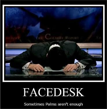 Face Desk