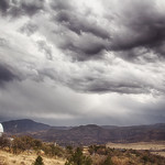 Stormy Skies Over MONET at McDonald Observatory