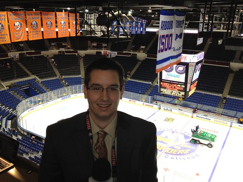 WRHU covers the Islanders playoffs