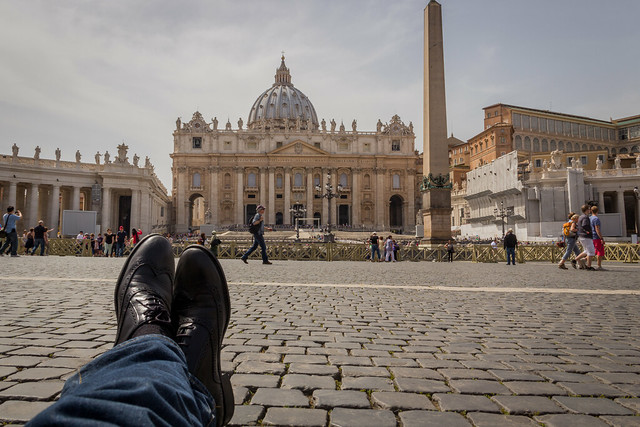 The Vatican - Traveling Boots - Rome