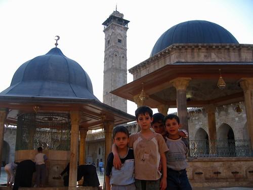 La Mezquita omeya de Alepo (Siria)
