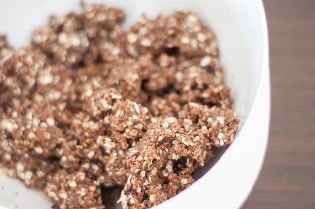 chia seeds, hemp seeds and cacao nibs