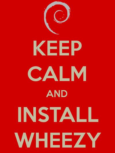 """Debian 7.0 (""""Wheezy"""")"""