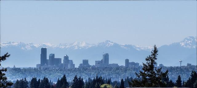 Seattle from Bellevue College