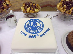 666th Hedon Mayor Cake