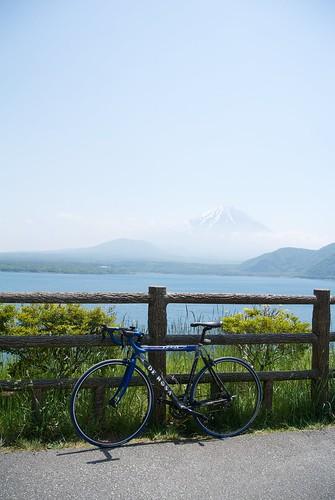 本栖湖サイクリング