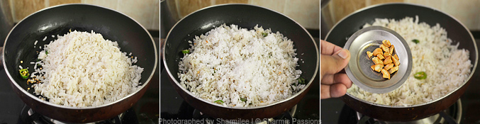 Coconut Poha Recipe - Step2