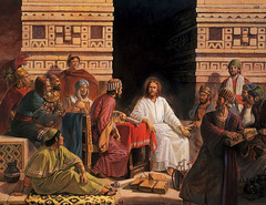 Christ Asks for the Records