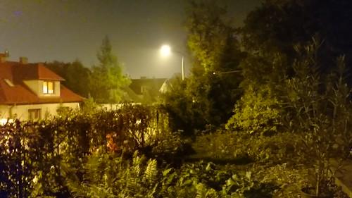 Sony Xperia Z1 - lampa wyłączona, zdjęcie nocne