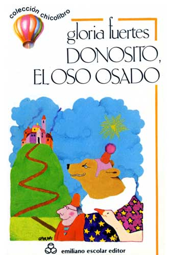 Cubierta de Donosito, El oso osado